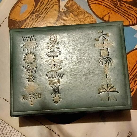 1950's mid century keepsake box
